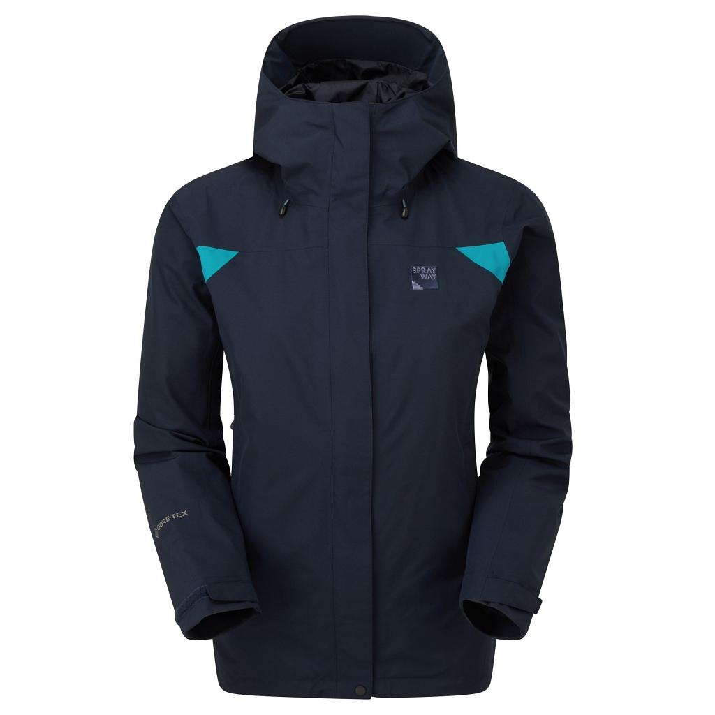 Sprayway Reaction Long GTX Jacket Womens  - Blazer
