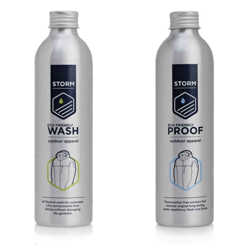 Storm Eco Wash & Proof Apparel Twin Pack - 2x 225ml