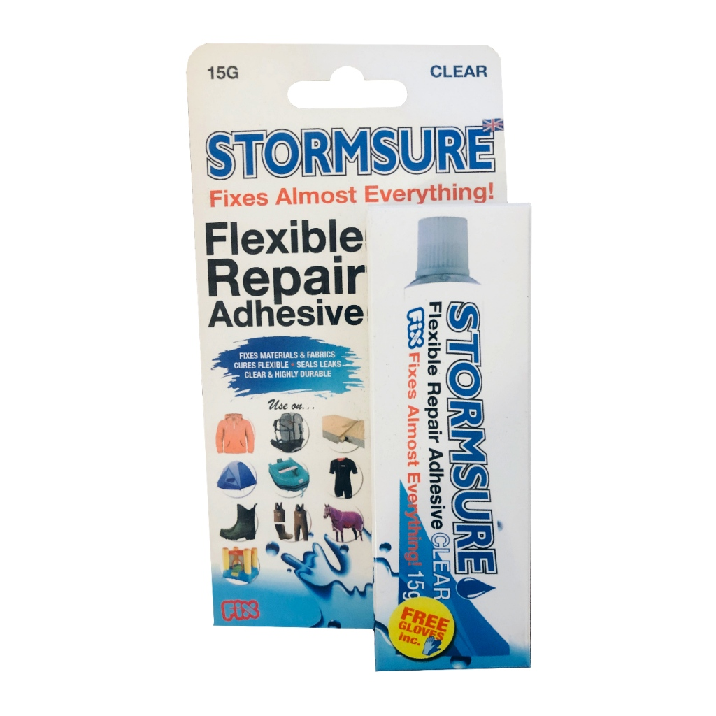 Stormsure Flexible Repair Adhesive 15g Clear