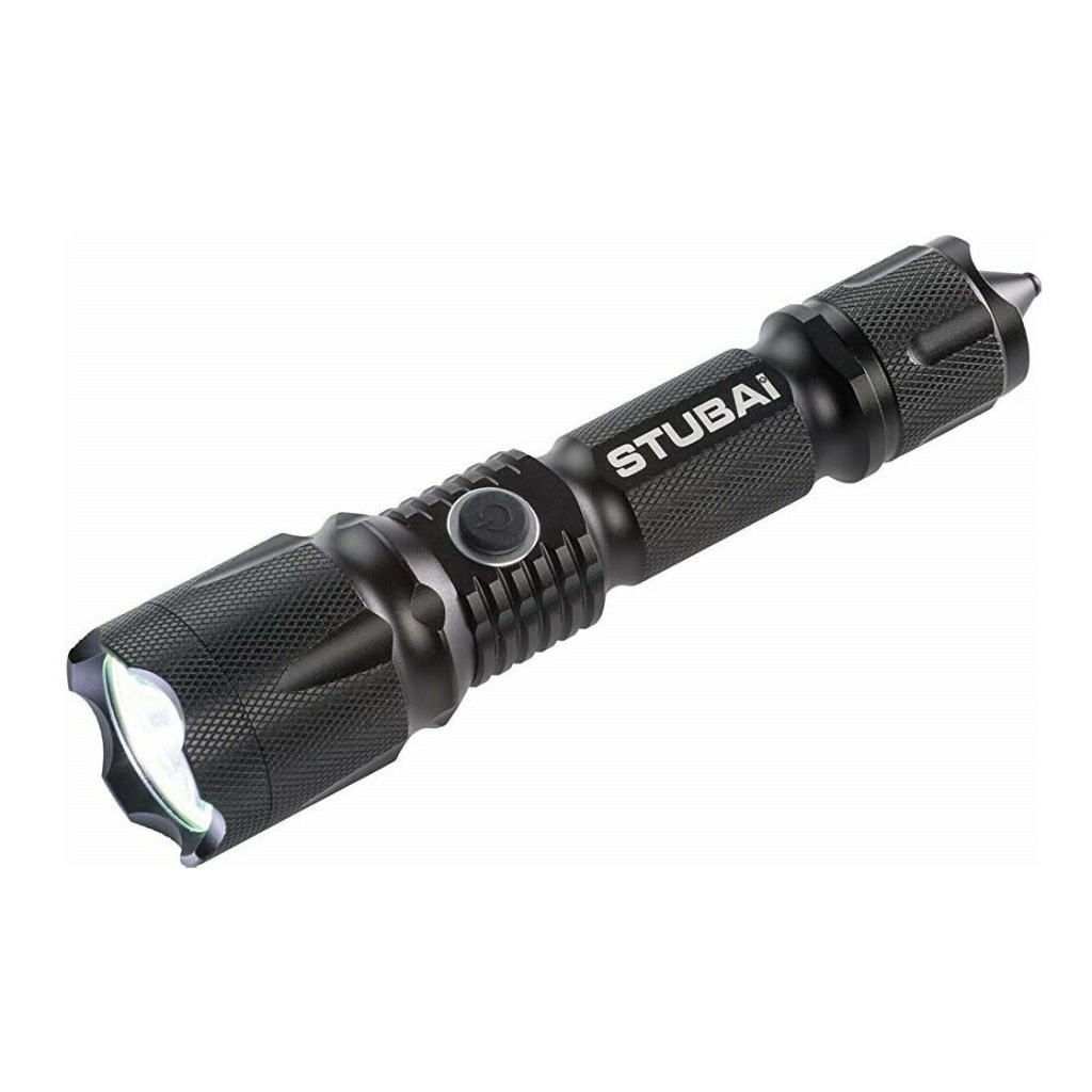Stubai Tactical LED Torch 800 Lumens Rechargeable Power Bank - LESS THAN HALF PRICE