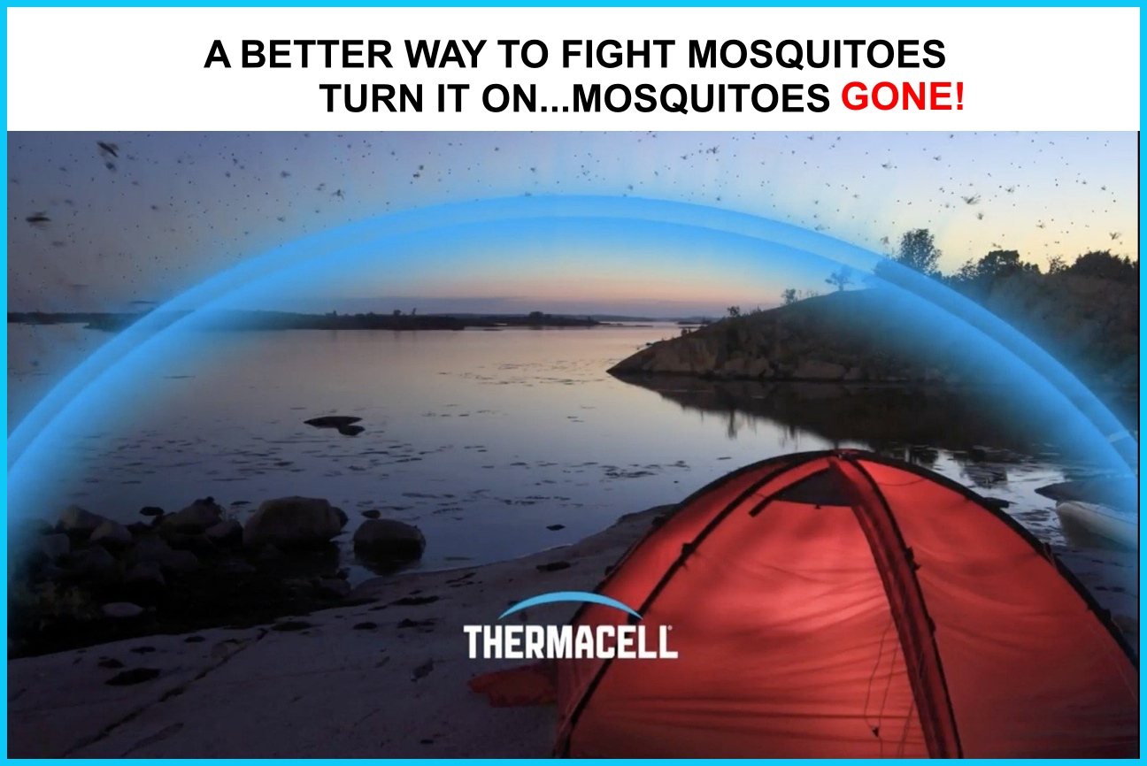 THERMACELL MOSQUITO REPELLER - BACK IN STOCK