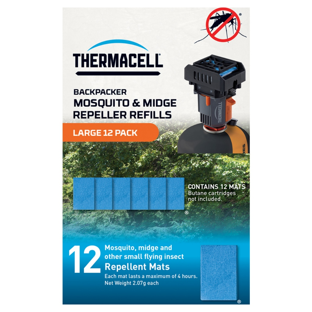 Thermacell 12 Mat Refills Large Pack