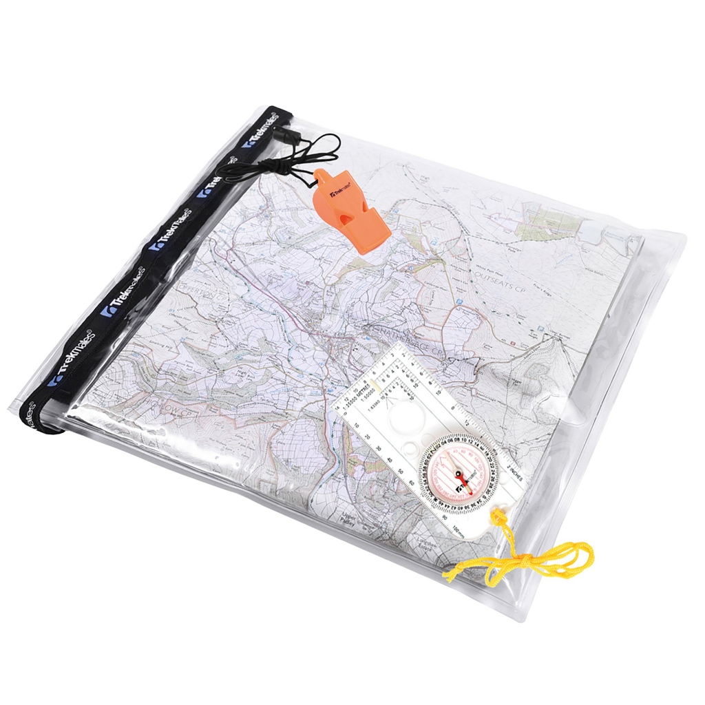Trekmates Dry Map Case Set