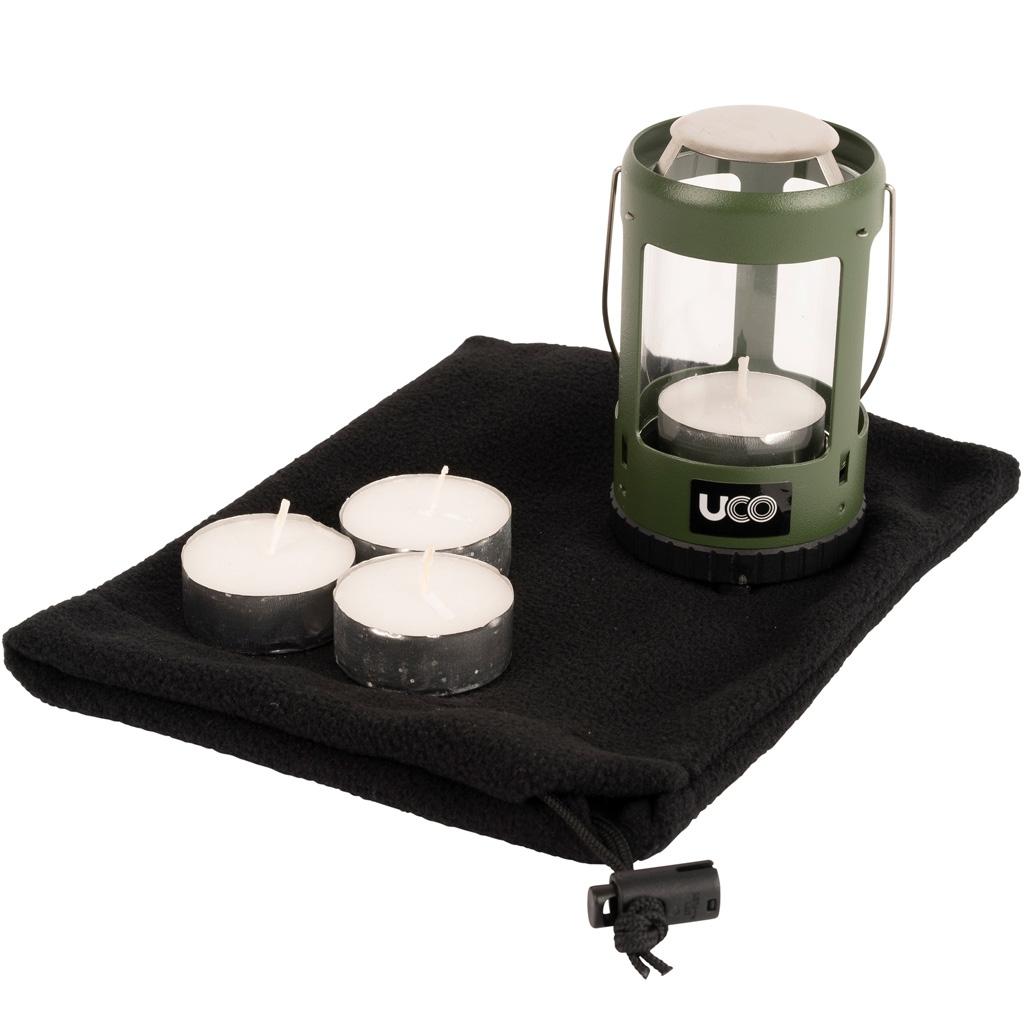 UCO Mini Candle Lantern Kit 2.0 Green