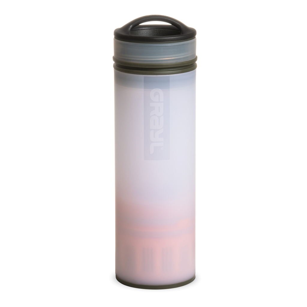Grayl Ultralight Compact Water Purifier Bottle - Alpine White