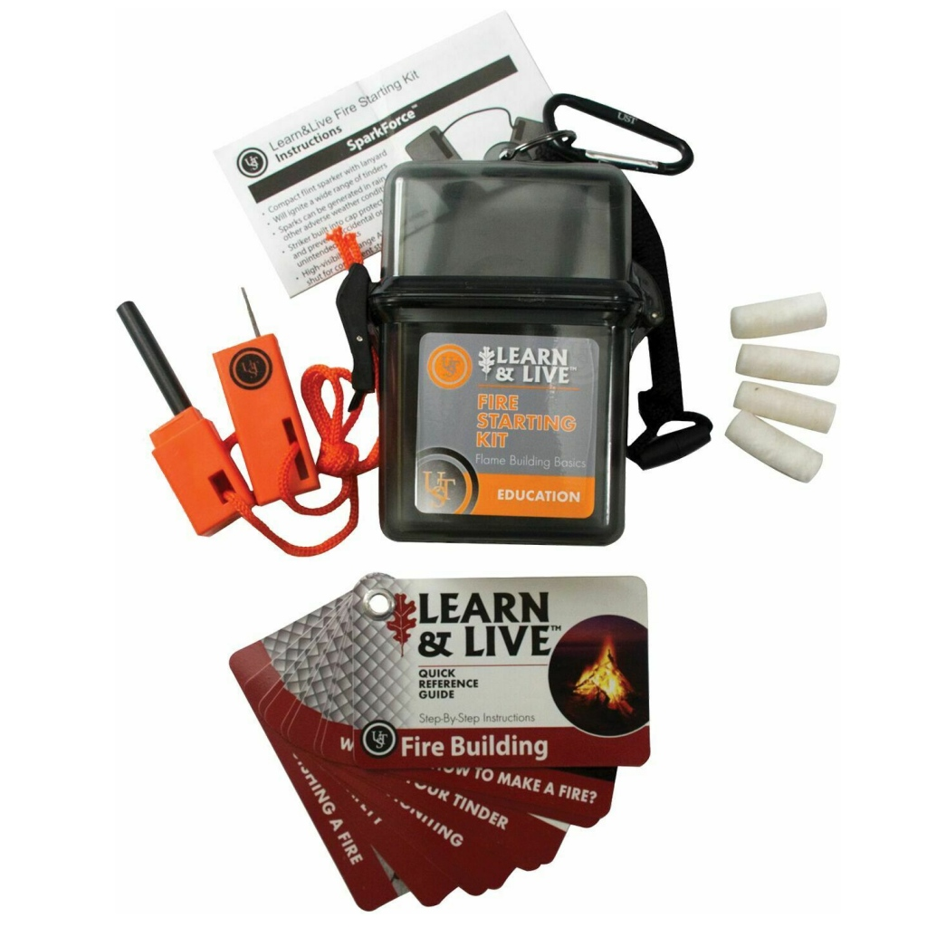 UST Fire Starting Learn & Live Kit - SPECIAL OFFER