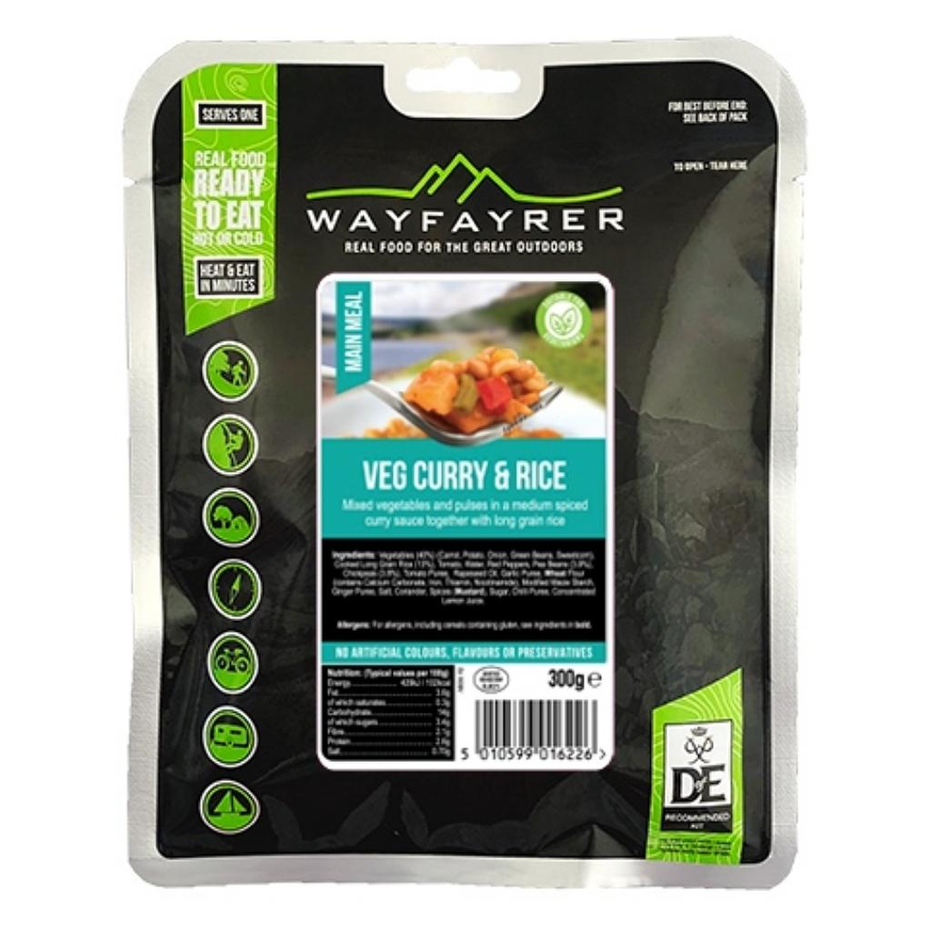 Wayfayrer Vegetable Curry & Rice