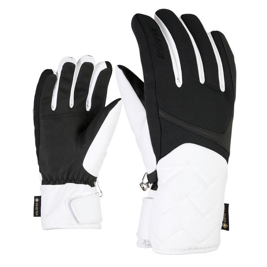 Ziener Kyrena GTX Lady Gloves - White