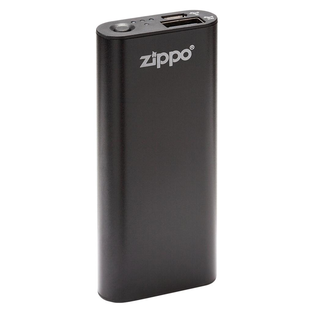 Zippo Heatbank 3-Hour Rechargeable Hand Warmer & Power Bank - Black