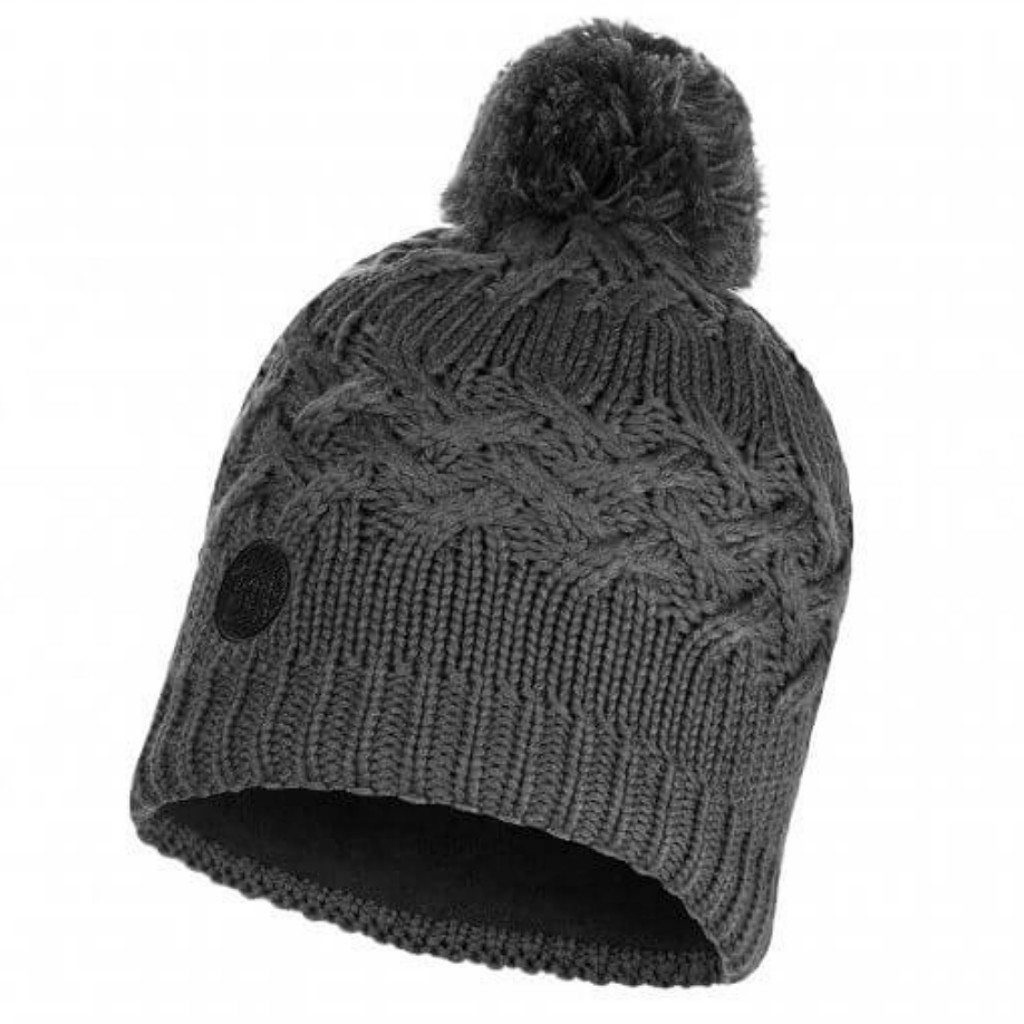 Buff Savva Knitted Hat - Castlerock / Grey Vigore