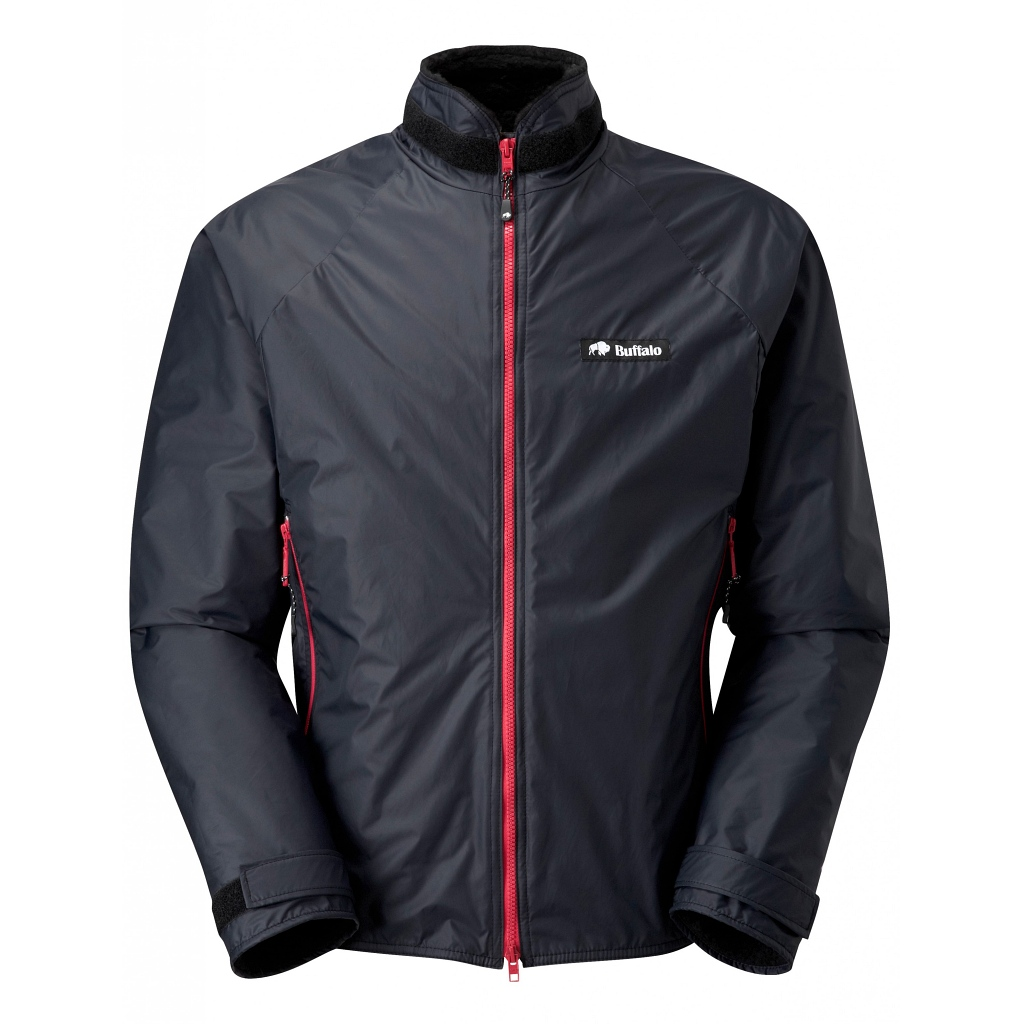 Buffalo Systems Belay Jacket Mens - Black / Red
