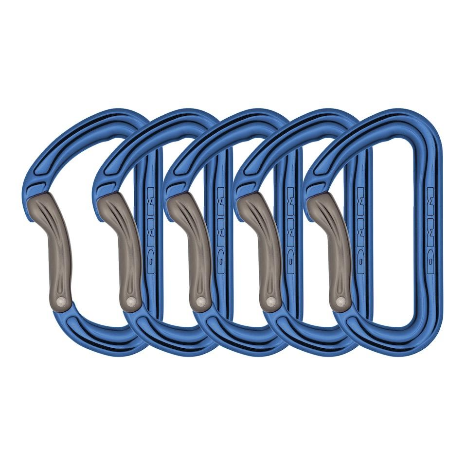 DMM Shadow Bent Gate 5 Pack