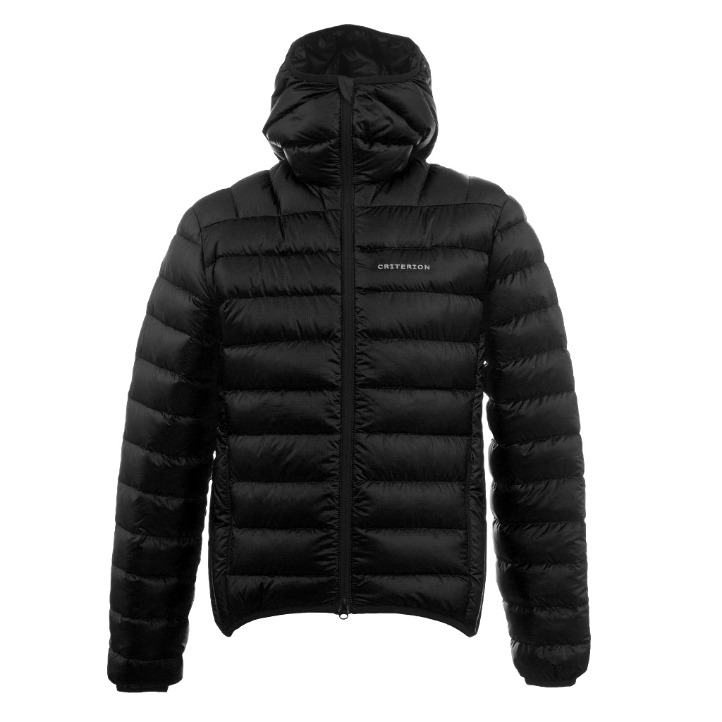 Criterion Activity Hydro Ultralight Down Jacket Unisex - Black