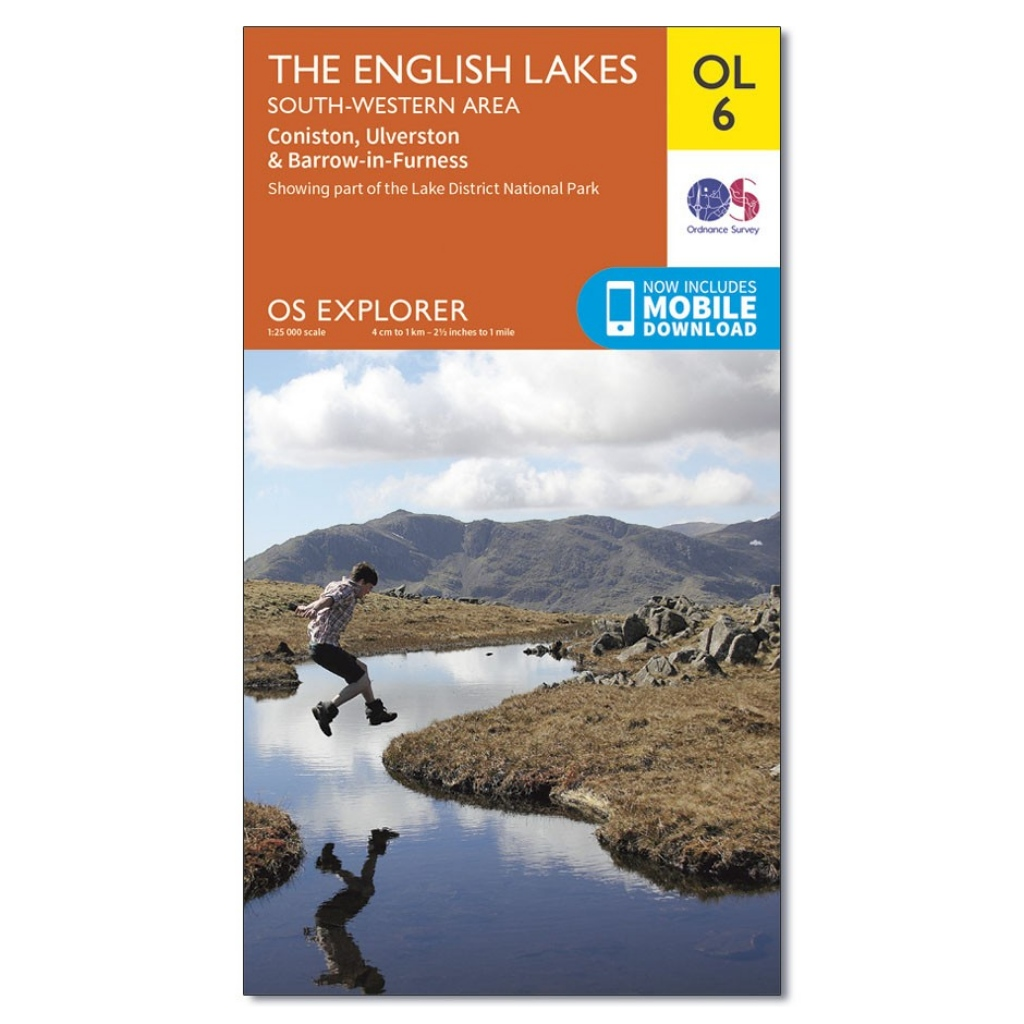 OS Explorer OL6 The Lake District - South Western area