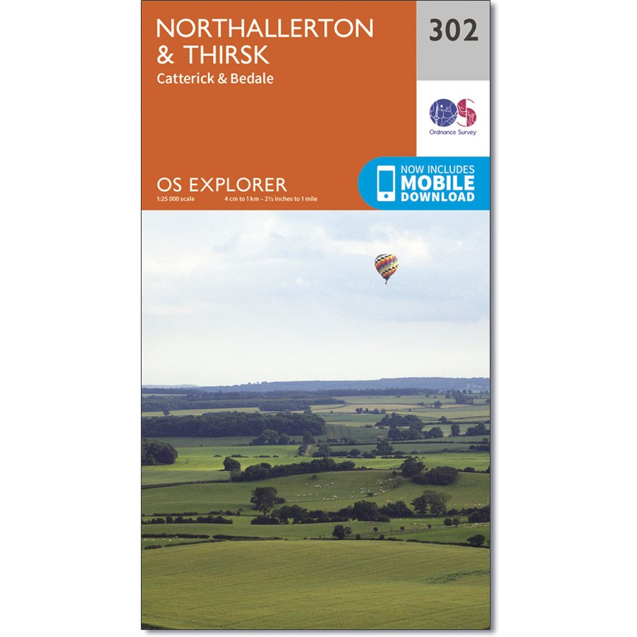 OS Explorer 302 Northallerton & Thirsk