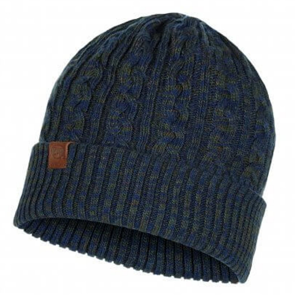 Buff Braidy Kniited Hat - Moss Blue