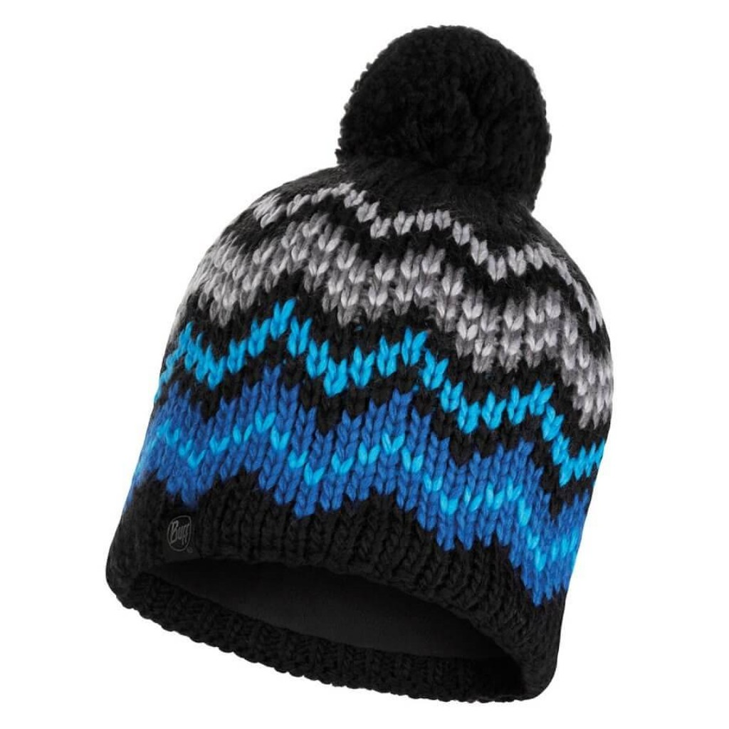 Buff Danke Knitted Hat - Black