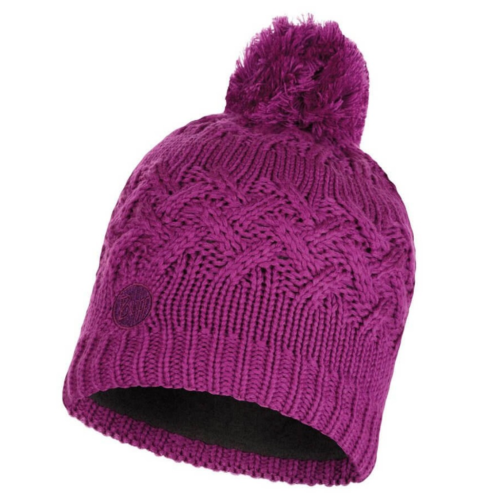 Buff Savva Kntted Hat - Mardi Grape