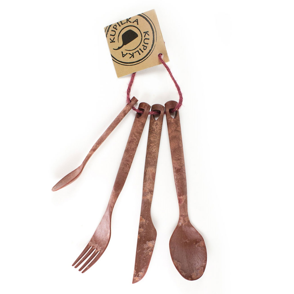 Kupilka Cutlery Set - Cranberry Red