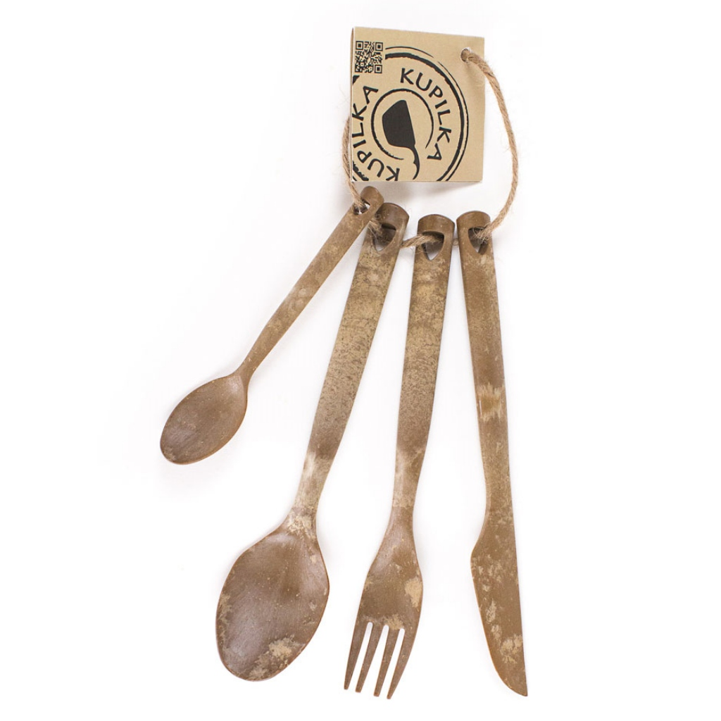 Kupilka Cutlery Set - Original Brown