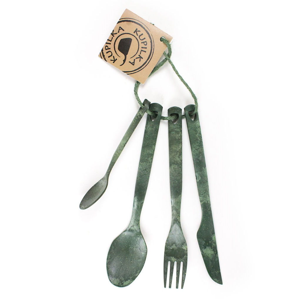 Kupilka Cutlery Set - Conifer Green