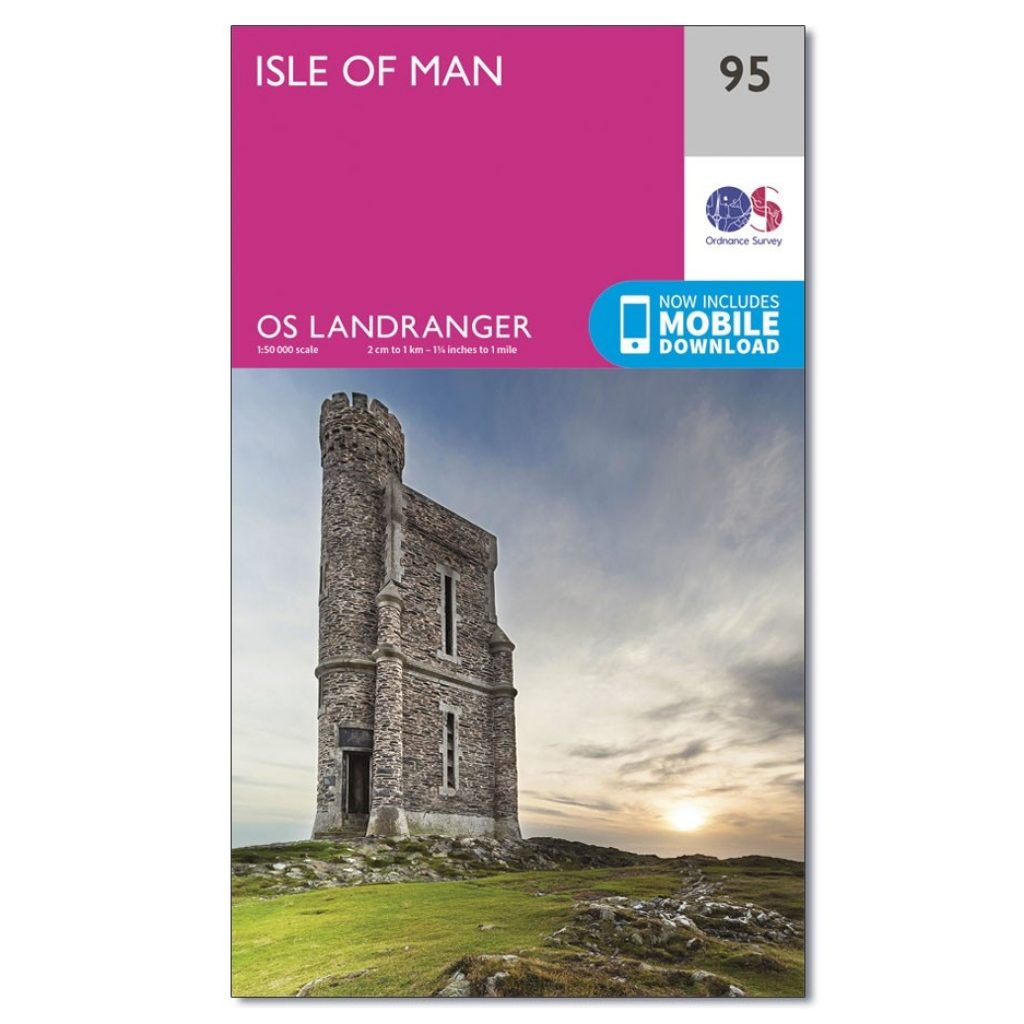 OS Landranger 95 - Isle of Man