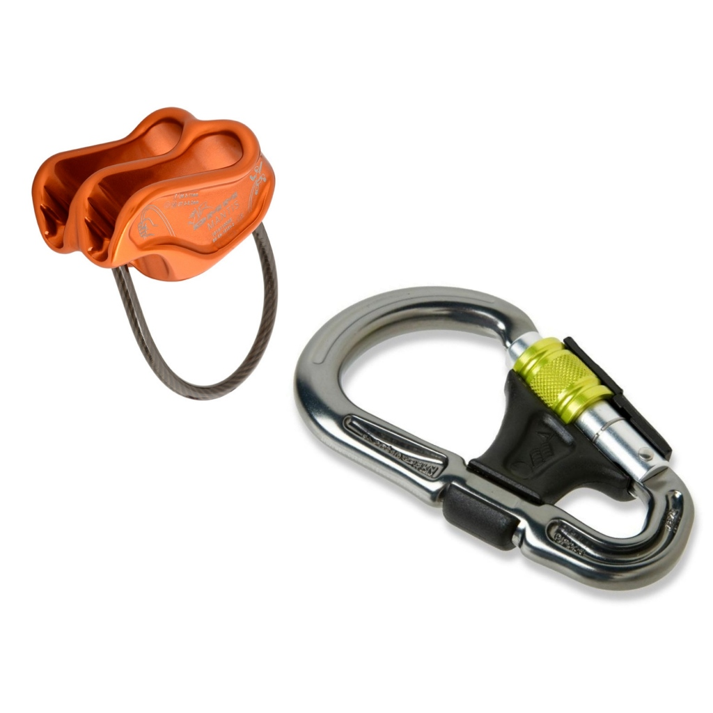 DMM Mantis & Belay Master Screwgate Belay Set