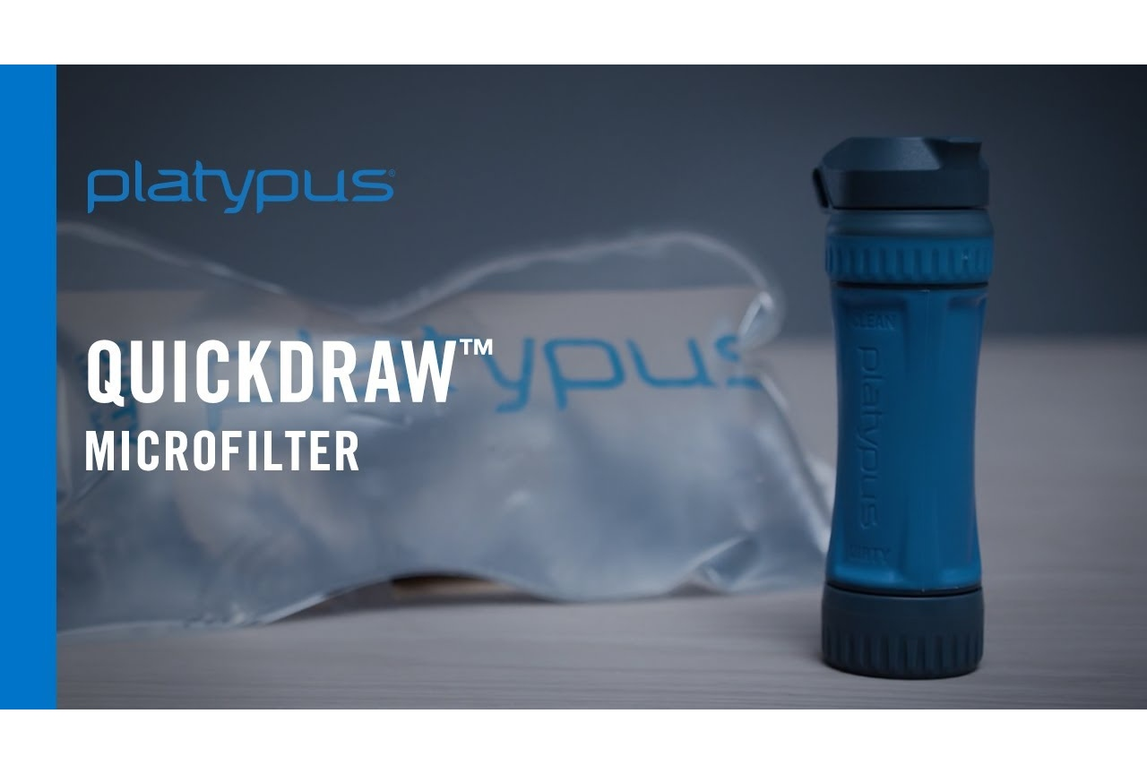 NEW PLATYPUS  QUICKDRAW MICROFILTER