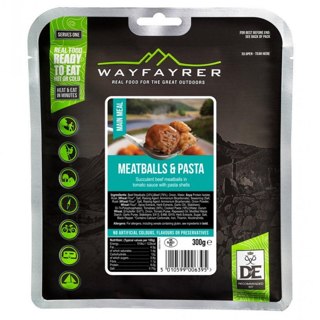 Wayfayrer Meatballs & Pasta