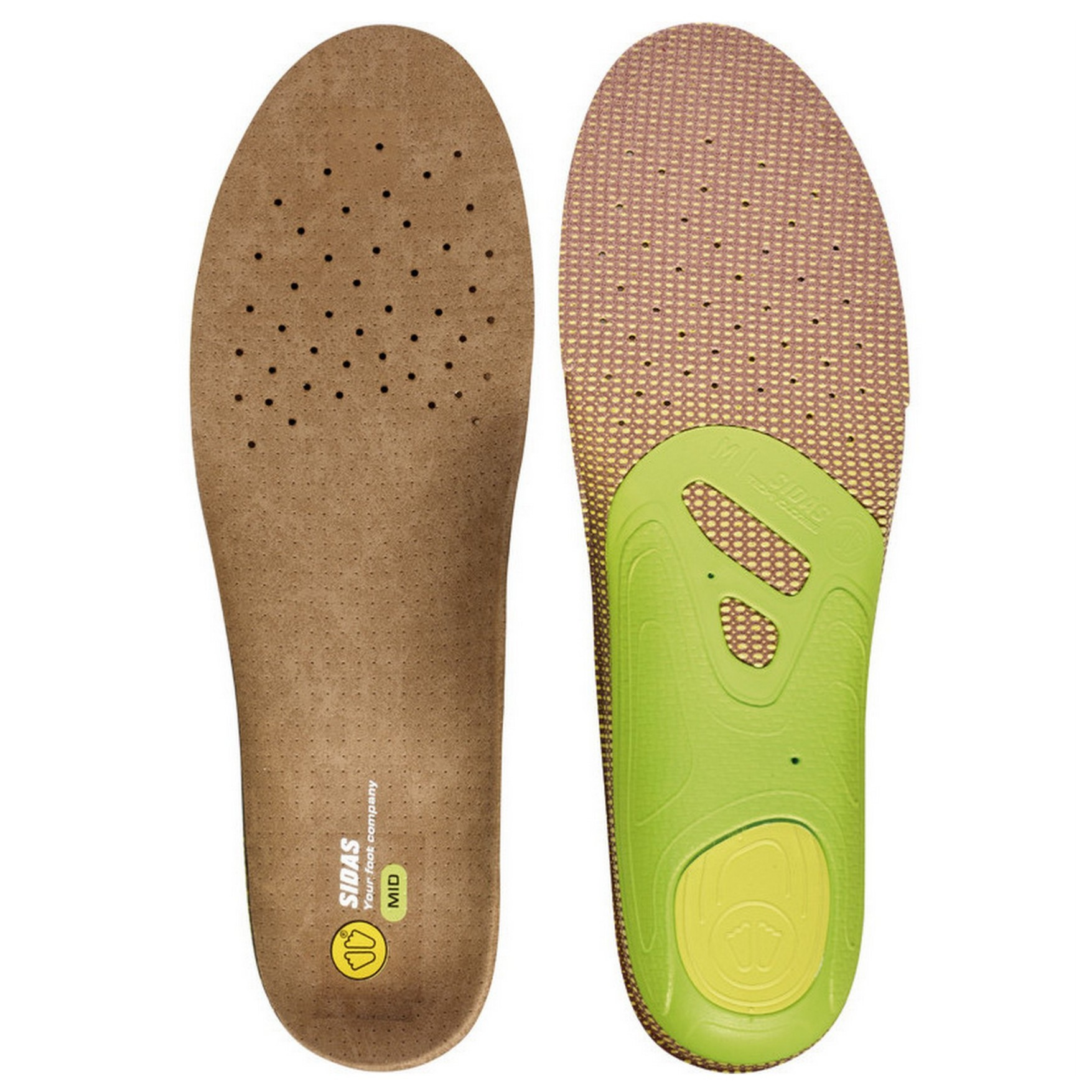 Sidas 3Feet Outdoor Mid Arch Anatomical Insoles