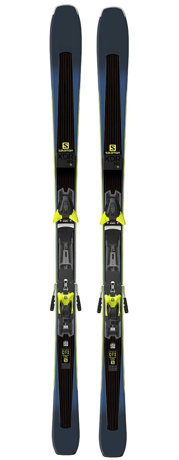 Salomon XDR 80Ti Ski Set Mens 18/19