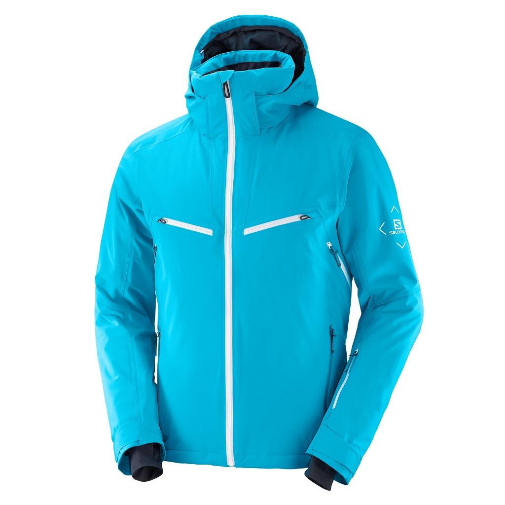 Salomon Brilliant Jacket Mens Barrier Reef