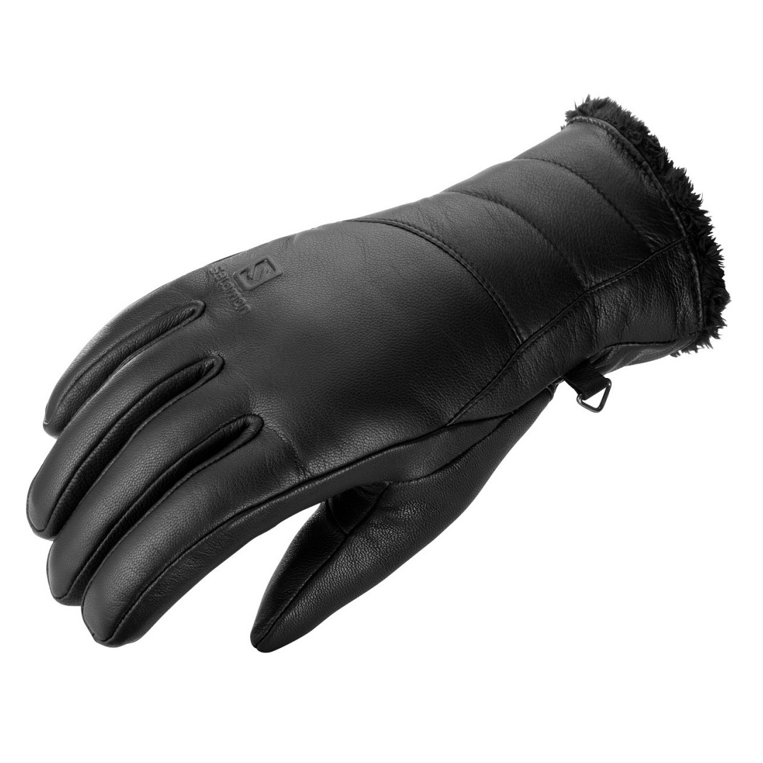 Salomon Native Gloves Leather Womens