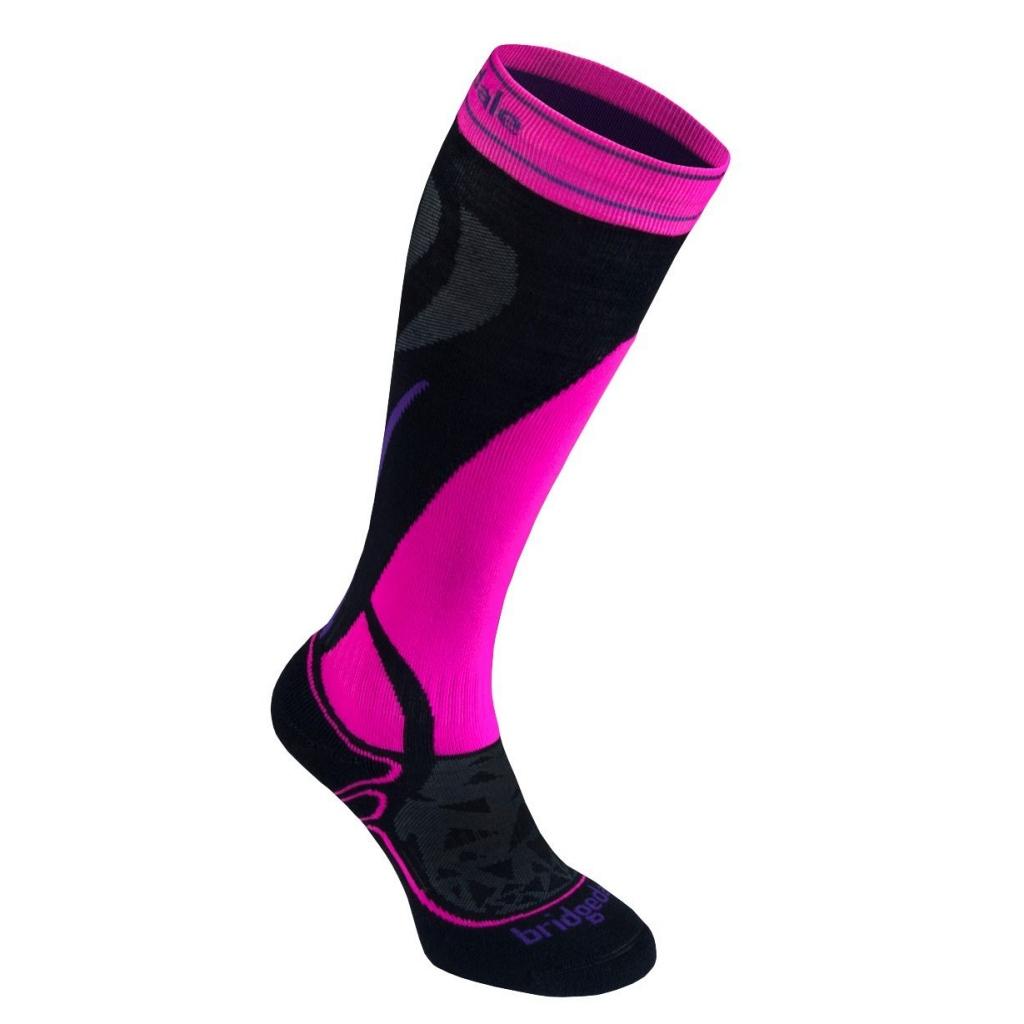 Bridgedale Ski Midweight Over Calf Ski Socks Womens