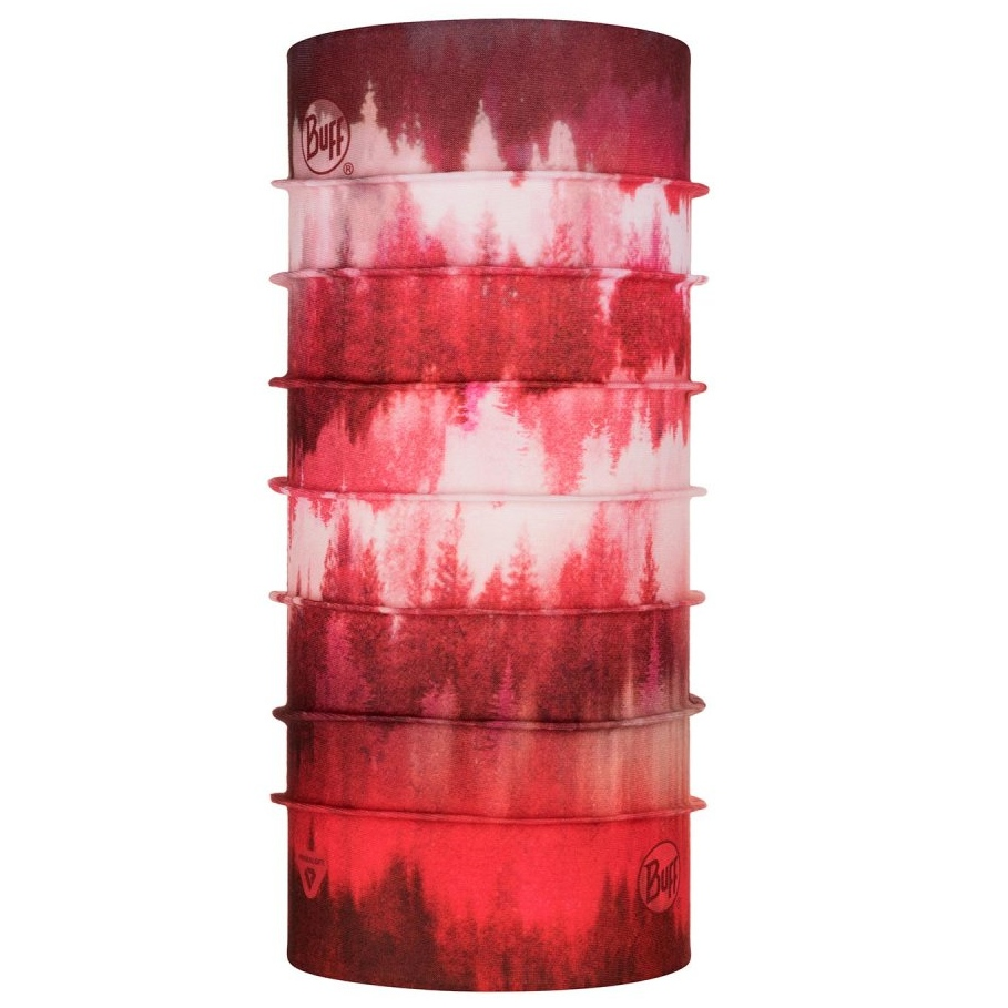 Buff ThermoNet Buff - Misty Woods Blossom Red
