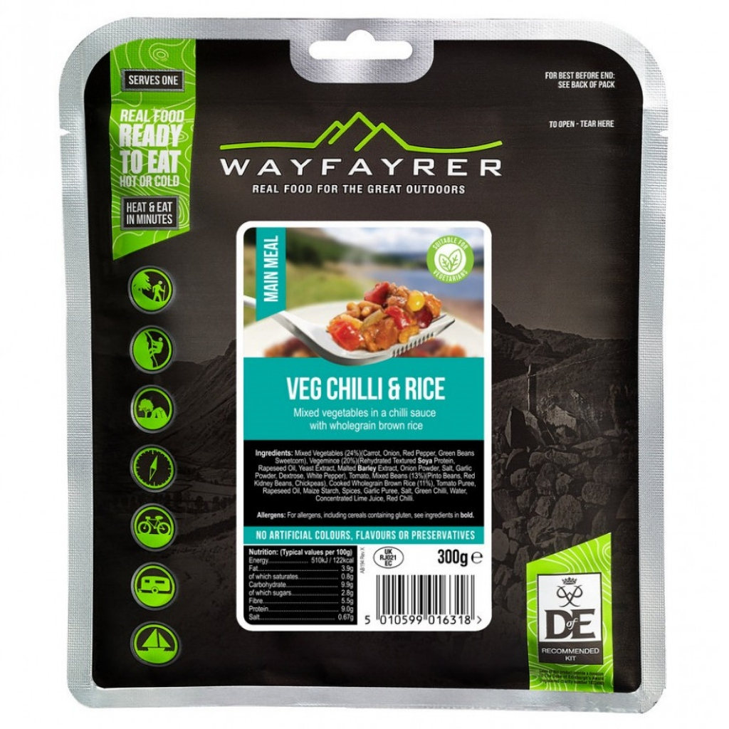 Wayfayrer Vegetable Chilli & Rice