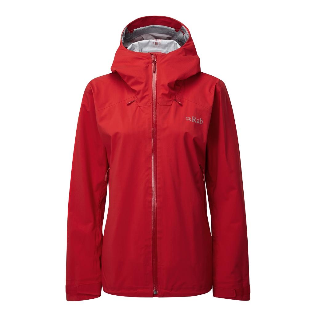 Rab Arc Jacket Womens - Ruby